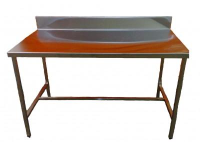 standard splashback bench